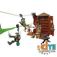 Игровой набор «Падение с водонапорной башни» из серии «Черепашки-Ниндзя Скоростной Спуск» TMNT Playmates 95051, В наличии