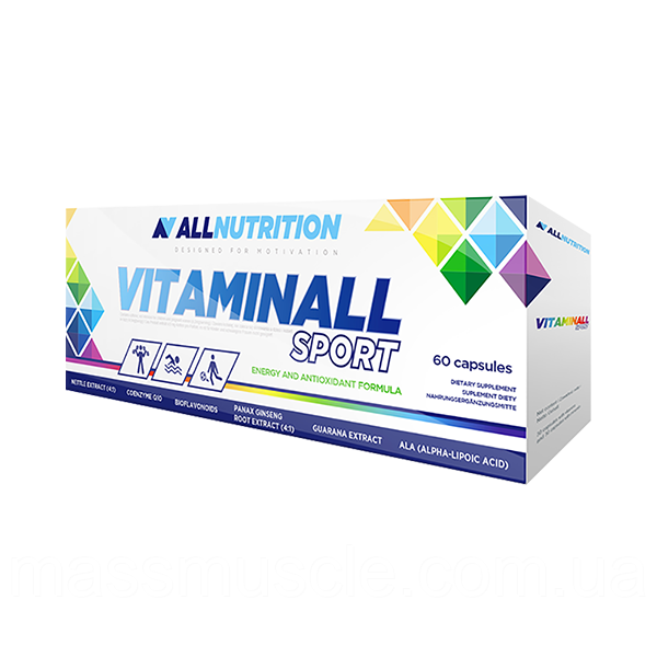 Вітаміни AllNutrition VitaminALL Sport caps 60