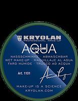 Зеленый аквагрим AQUACOLOR 8 мл (оттенок 512)