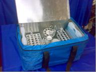 Сумка-холодильник С-14 (объём 8.0 л. для негабаритных материалов)