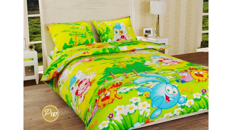 Комплект постельного белья Leleka-textile Ранфорс подростковый полуторный  Р-187 7e46a902679e7