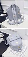Женский набор с рюкзаком 3 в 1 голубой, фото 1