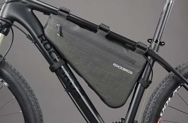 Велосумка подрамная RockBros 8L водонепроницаемая
