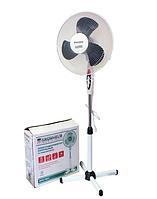 Вентилятор напольный Grunhelm GFS-1621 White, 40W, 3 скорости