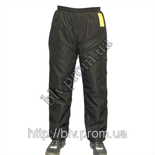 Теплые спортивные брюки на флисе нейлон ACR0