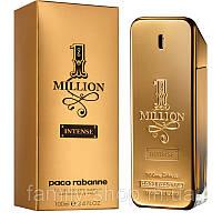 Туалетная вода Paco Rabanne One Million Intense 100 ml. Мужские Tester