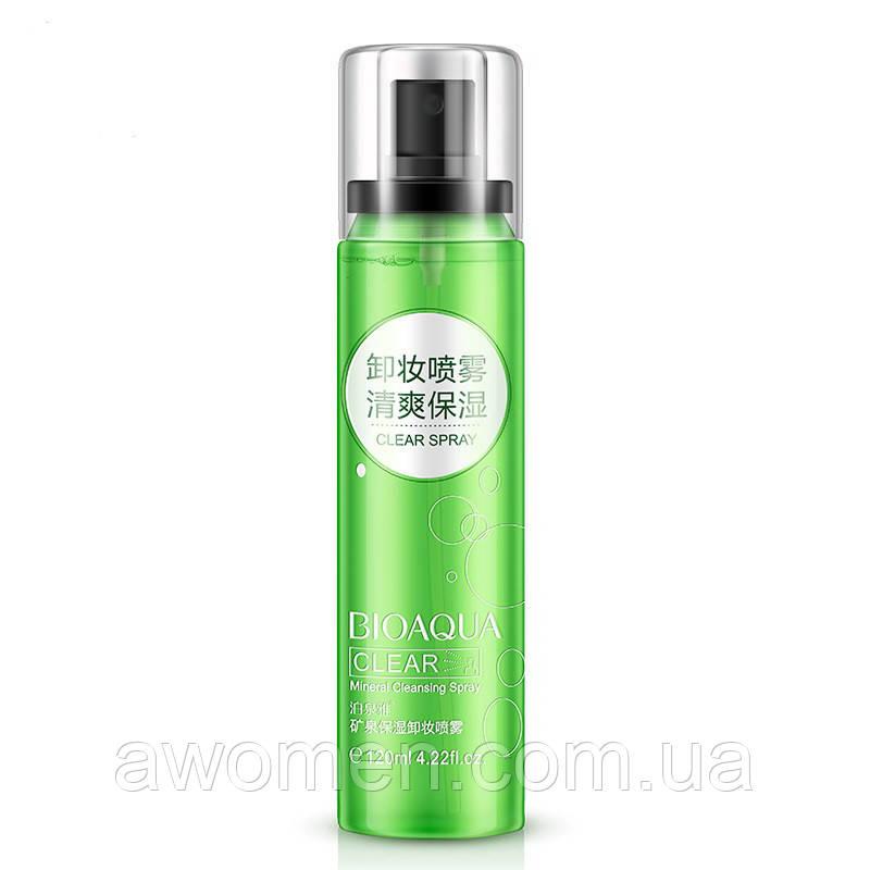 Минеральный спрей «BIOAQUA» для снятия макияжа 120 мл