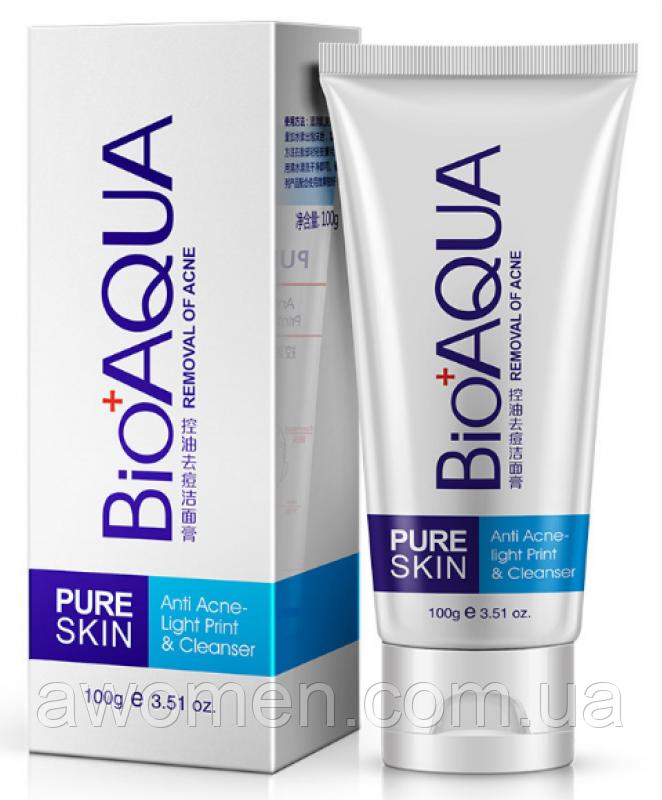Пенка для умывания BioAqua Pure Skin для проблемной кожи, 100 гр