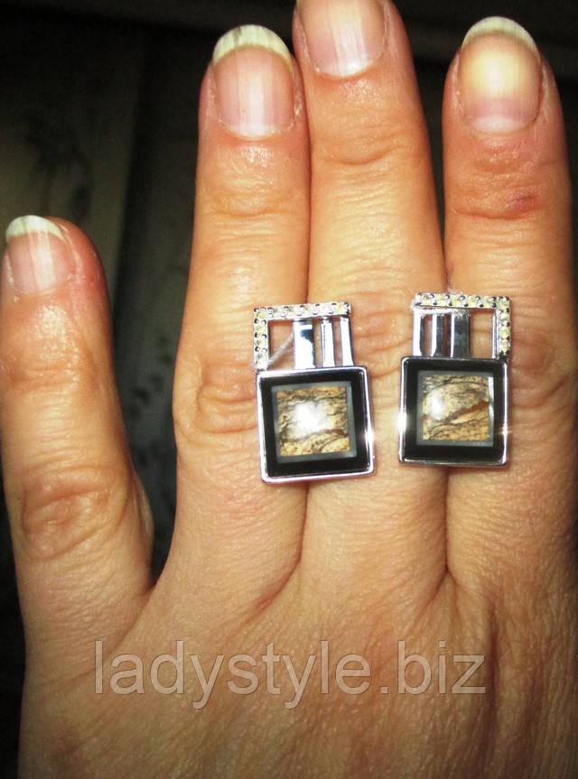 украшения с натуральным галиотисом кольцо перстень купить