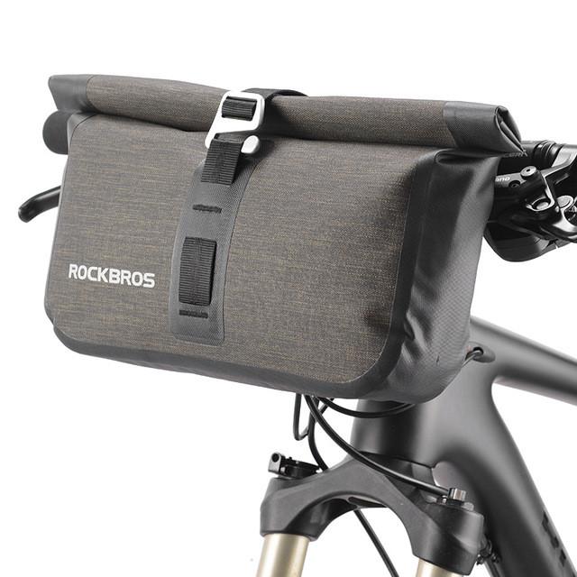 Велосумка на руль RockBros водонепроницаемая черная