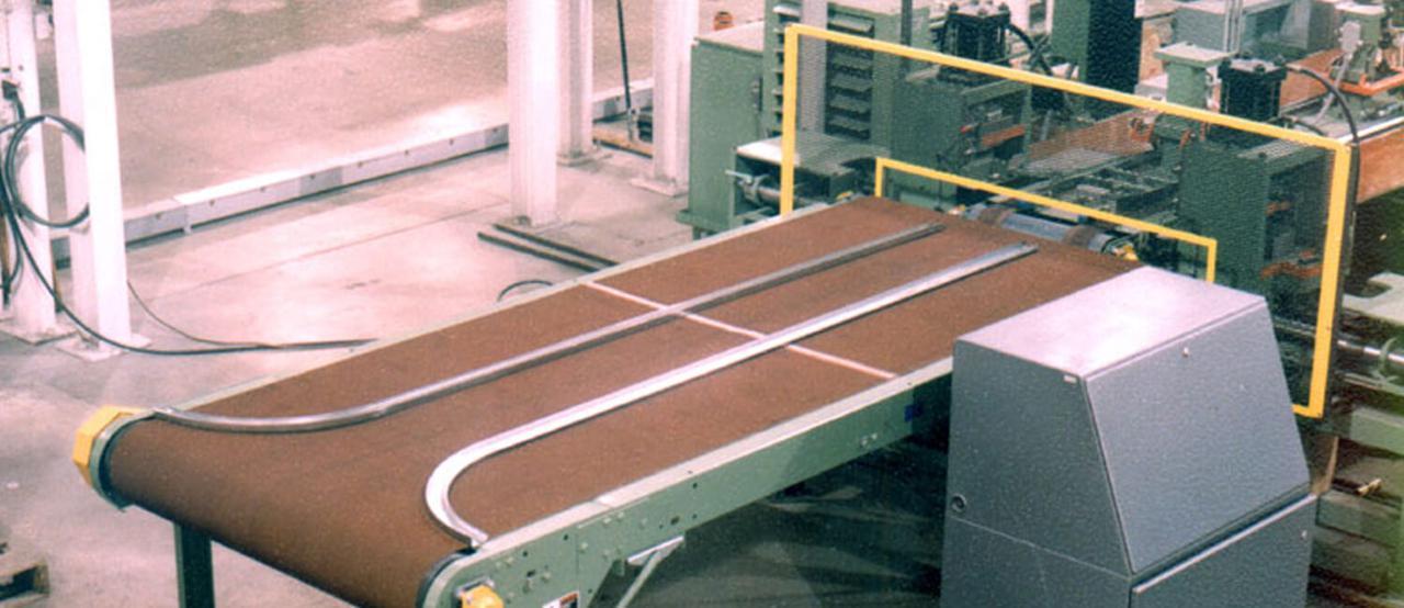 Линии формовки дорожек для производства гаражных дверей