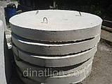 Днище ЖБ кільця колодязя ПН15, фото 3