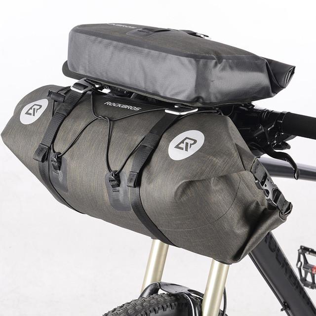 Комплект велосумок на руль RockBros водонепроницаемая