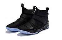 Баскетбольные кроссовки Nike LeBron Soldier XI 11 Prototype Black Ice