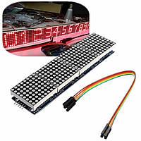 3Pcs MAX7219 Точечный матричный модуль 4-в-1 Дисплей Для Arduino