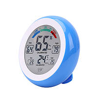 Многофункциональный цифровой Термометр Гигрометр Температурный датчик влажности Сенсорный экран Многоцветный