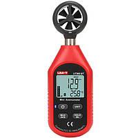 UNI-TUT363BTBluetoothМини-измерительскоростиветра Цифровой карманный размер Анемометр Измерение Термометр