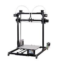 FLSUN®CPlusНастольныйDIY3D-принтер с сенсорным экраном Двойной Z-двигатель с двойным соплом