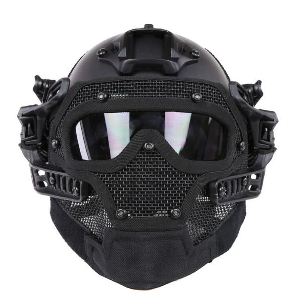 WoSporT Full Face Helmet Защитный чехол для мотоцикл Тактический Военный Обучение - ➊TopShop ➠ Товары из Китая с бесплатной доставкой в Украину! в Днепре