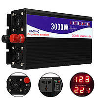 3000W 12V / 24V / 48V до 220V Pure Sine Wave Power Inverter Home Converter