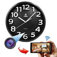 1080PПолныйHDWiFiспрятанIP камера Ночной вид Смартфон ПК в режиме реального времени Просмотр записи Часы