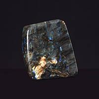 Лабрадор натуральный камень интерьерный сувенир 11х9х3,5см 0,995кг