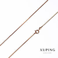 Цепочка Xuping, плетение Жгут L-45см s-1,2мм цвет золото