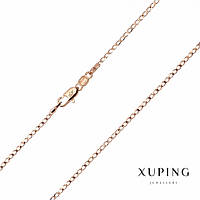 Цепочка Xuping плетение Панцирное L-35см s-1,8мм цвет золото