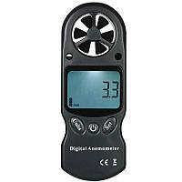 8 in 1 Ручной цифровой анемометр для измерения скорости ветра
