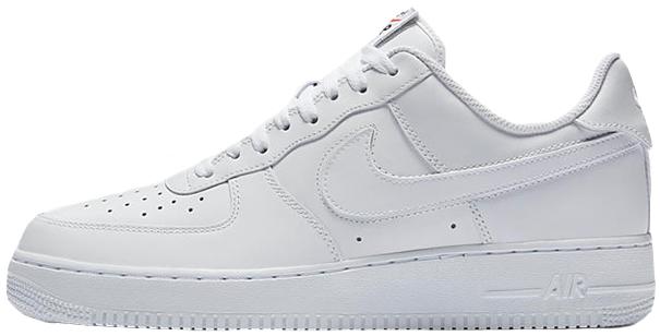 "Женские кроссовки Nike Air Force 1 Low ""White"" (Найк Аир Форс) белые"