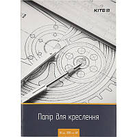 Бумага для черчения А3 10л. 120г/м Kite K18-270