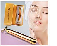 Ионный массажер для лица Energy Beauty Bar REVOSKIN Gold ионный вибромассажер в коробке