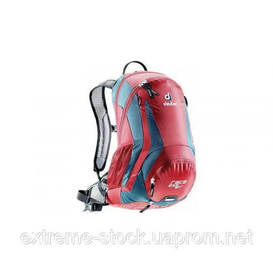 Велосипедный рюкзак Deuter Race EXP Air, 15 литров, cranberry-arctic