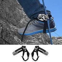 На открытом воздухе Альпинизм Скалолазание левая нога Веревка Устройство для подъема асцендера Инструмент