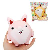 Sunny Squishy Fat Fox Fatty 13cm Soft Медленная растущая коллекция Подарочная игрушка с упаковкой
