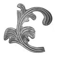 Листок - литой элемент 6150 L(R)