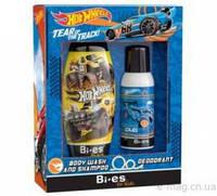 Набор Bi-Es Hot Wheels гель для душа + дезодорант-спрей