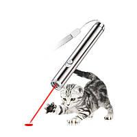 Loskii PT-30 Электронные игрушки для животных Кот Интерактивная тренировочная игрушка Red Лазер Указатель с фонарем LED