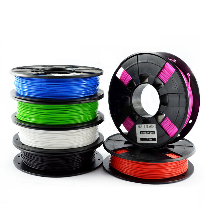 TEVO® черный / белый / синий / оранжевый / зеленый / Розовый / красный 1 кг 1,75 мм ABS нить для 3D принтера-1TopShop