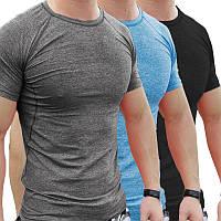 Летние мужчины Спортзал Мышцы с коротким рукавом Рубашка Бодибилдинг Спорт Фитнес Ношение колготок Футболка Топы Блузка