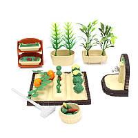 Весеннее садоводство Dollhouse Play Set Набор с аксессуарами для кукол из сильванианских семей