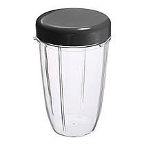 3шт запасные чашки 32 унции колоссальные + 24 унции высотой + маленькая чашка + 3 крышки для Nutribullet-1TopShop, фото 3