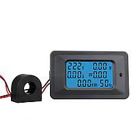 100A Цифровой LED Панельная мощность Монитор Измеритель измерительного прибора для измерения энергии вольтметра - 1TopShop