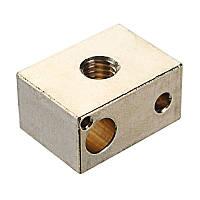 Блок нагрева горячего конца для 3D-принтера Высокая температура Медь Материал