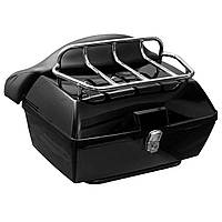 48L Задний багажник Задняя хвостовая коробка Чехол Багаж для мотоцикла и скутера для Harley Universal