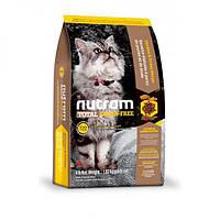Nutram Total Grain-Free Turkey & Chiken Cat Food, холистик корм для котов, индейка/курица, 20кг