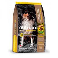 Nutram Total GF Turkey, Chiken & Duck, холистик корм для собак, 3 вида птицы, 11,34кг