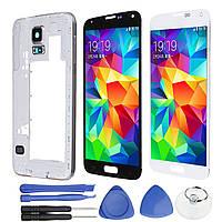 Сборка LCD Дисплей + сенсорный экран планшета Замена и ремонт Набор для Samsung Galaxy S5 i9600 G900F - 1TopShop