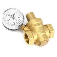 DN25 Давление, поддерживающее клапан Клапан Латунный регулятор давления воды с калибровочным