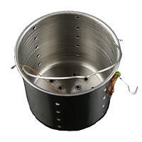 44-55 мм Утолщение из нержавеющей стали Carp Рыбалка Держатель подающего устройства для лайнера На открытом воздухе Рыбалка Bait Basket Инструмент